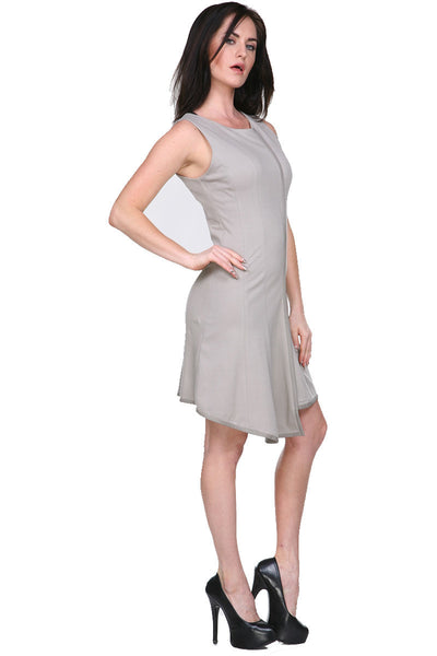 LMT140 Touch Of Leather Dress My Tribe Clothing designer for women,