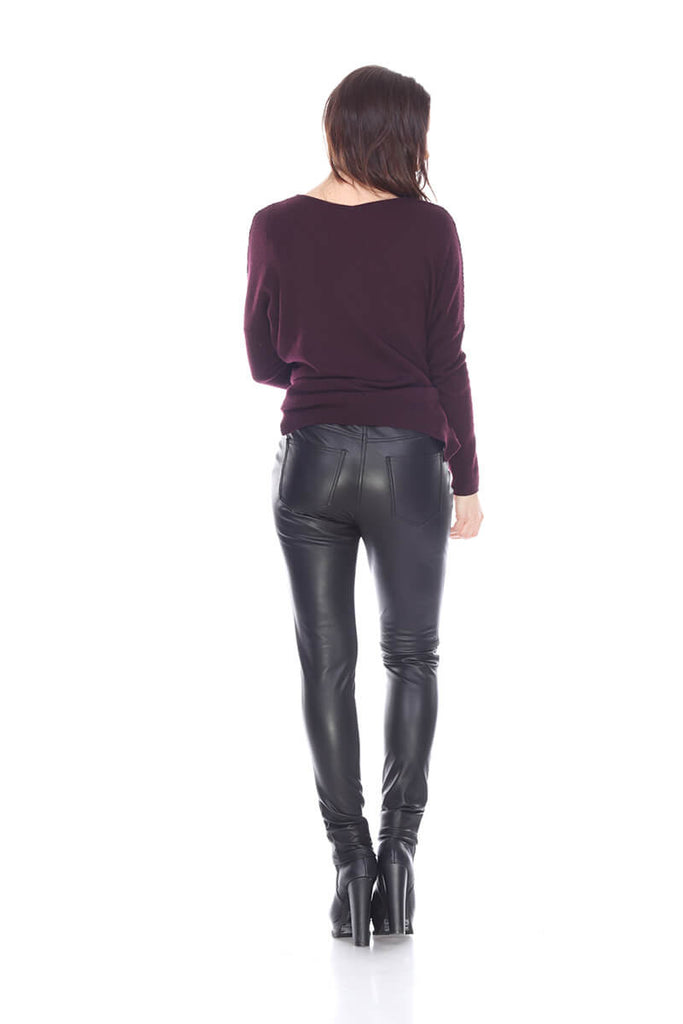 MTP181 Straight cut leather pants My Tribe Leather Clothing