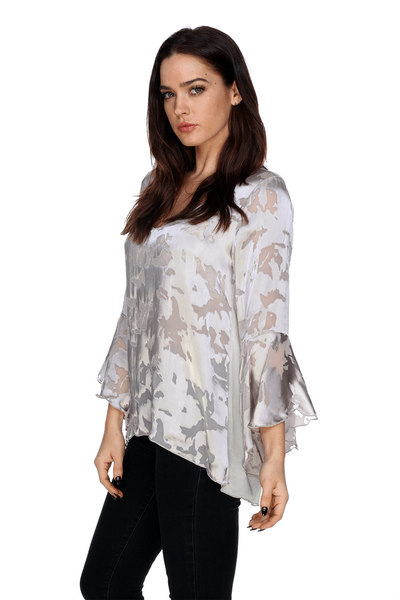 MTT02 Silk Woodstock Tunic My Tribe Clothing designer for women, silk;