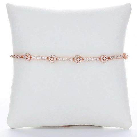 Aurora Anklet (Rose Gold)