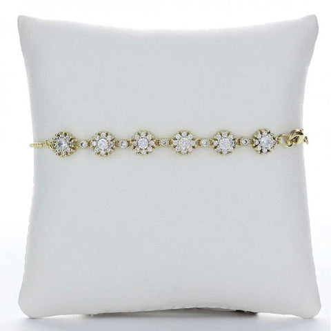 Flower Anklet (Gold)