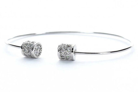 Celestial Dreams Bangle (Silver)