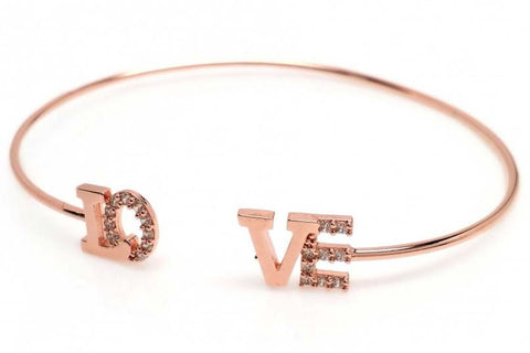 Love Bangle (Rose Gold)