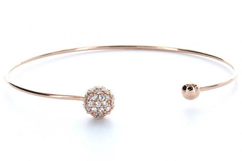 Sphere Bangle (Rose Gold)