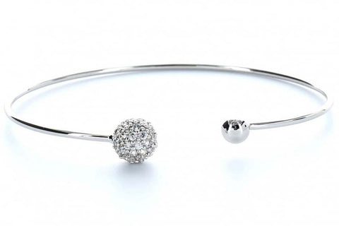 Sphere Bangle (Silver)