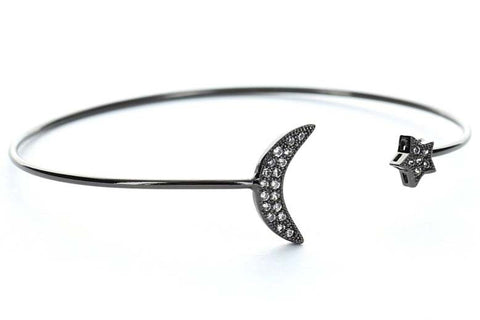 Starry Nights Bangle (Black)