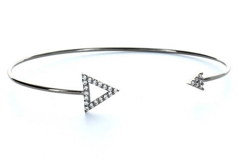 Arrows of Success Bangle (Black)