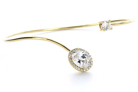 Aurora Bangle (Gold)