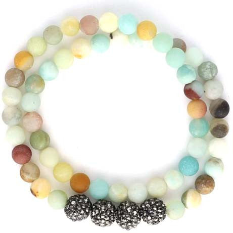 Tropical Voyage Beaded Bracelet
