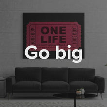 "Load image into Gallery viewer, Gary Vee Artwork ""One Life"" by IKONICK"