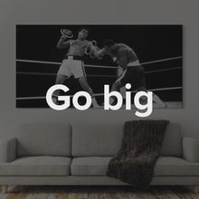 "Load image into Gallery viewer, Officially Licensed ""Muhammad Ali - Sting"" Canvas Art by IKONICK"