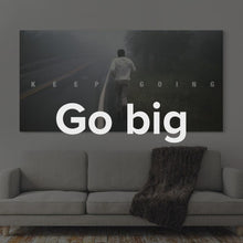 "Load image into Gallery viewer, Muhammad Ali Boxing Art Modern/Pop Culture Canvas Wall Art ""Muhammad Ali - Keep Going"" by IKONICK"