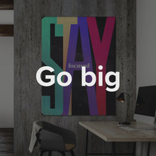"Load image into Gallery viewer, ""Stand Out"" Motivational Canvas Art Bundle by IKONICK"