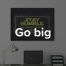 "Load image into Gallery viewer, ""Stay Humble, Success Story"" Motivational Canvas Art - Ikonick"