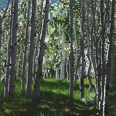 Jenna D. Robinson 'Birch Trees'
