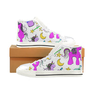 High Top Canvas Shoes for Kid
