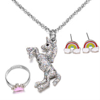 Girls Unicorn Pendant Necklace set - The Unicorn Shop