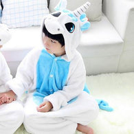 Flannel Unicorn pajamas suit - The Unicorn Shop
