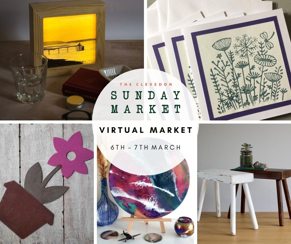 Mother's day present ideas at the virtual Clevedon Sunday Market