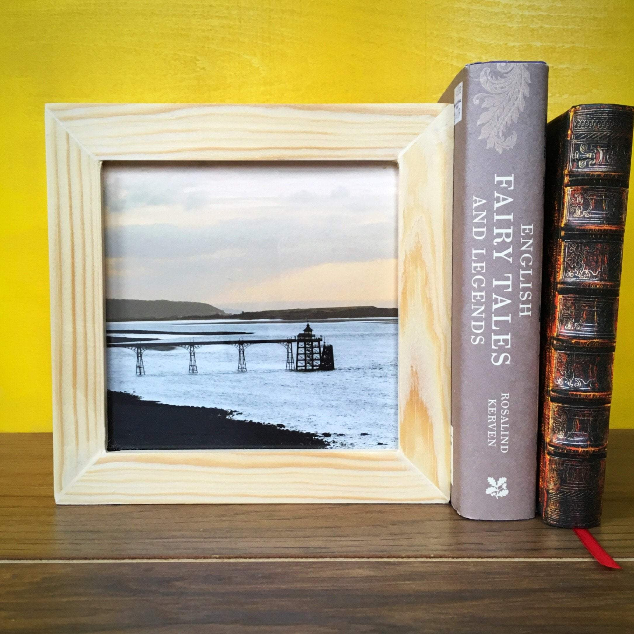 A lovely Clevedon Pier light box and many more Bristol prints by photographer & maker Nina Allwood