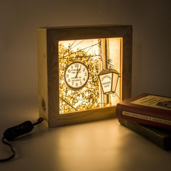 A personalised lightbox is a great gift for any occasion