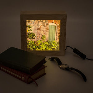 Handmade light box by Nina Allwood