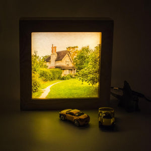 Lit up photo frame