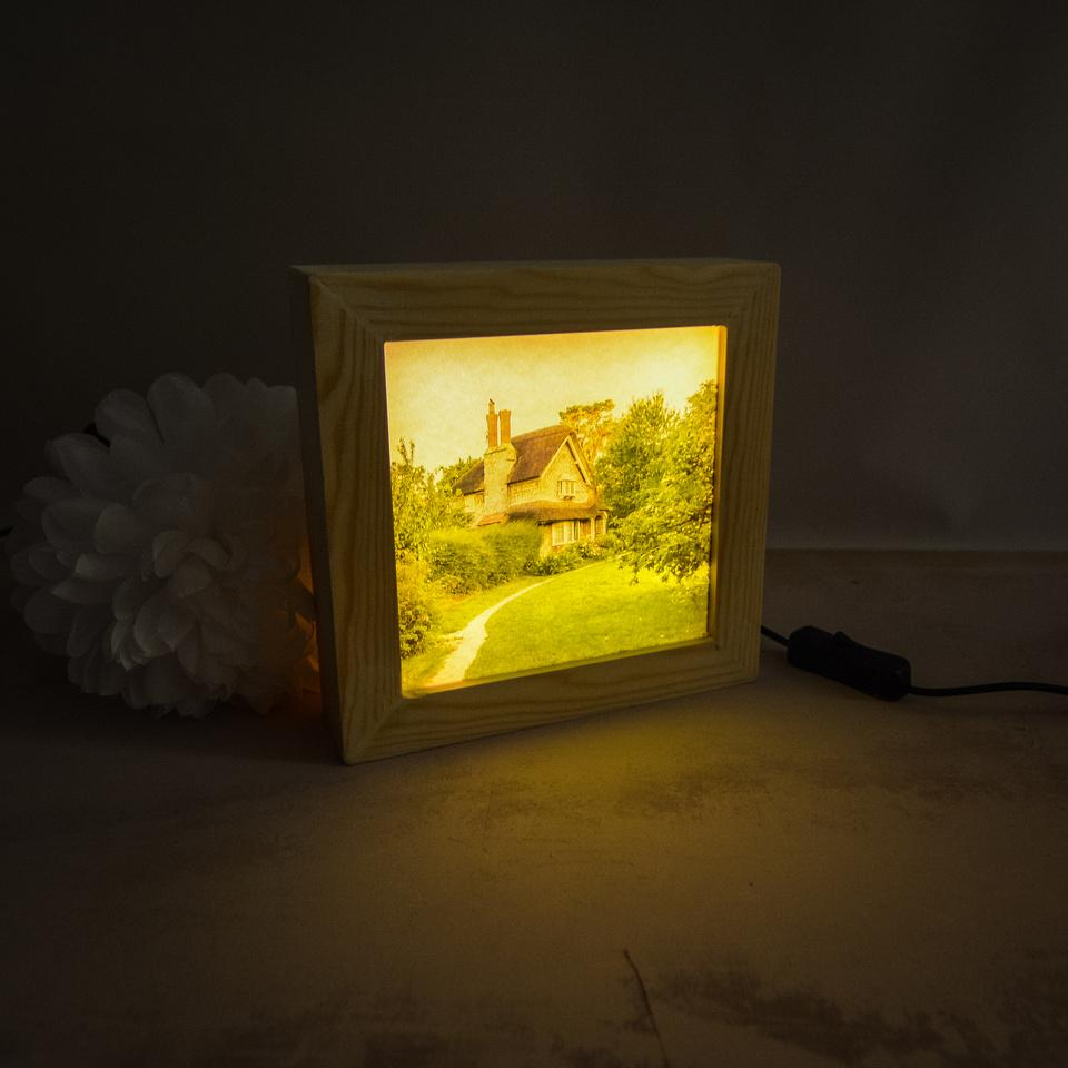 Switched on backlit light box