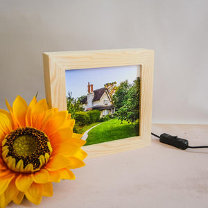 The Blaise Hamlet handmade light box