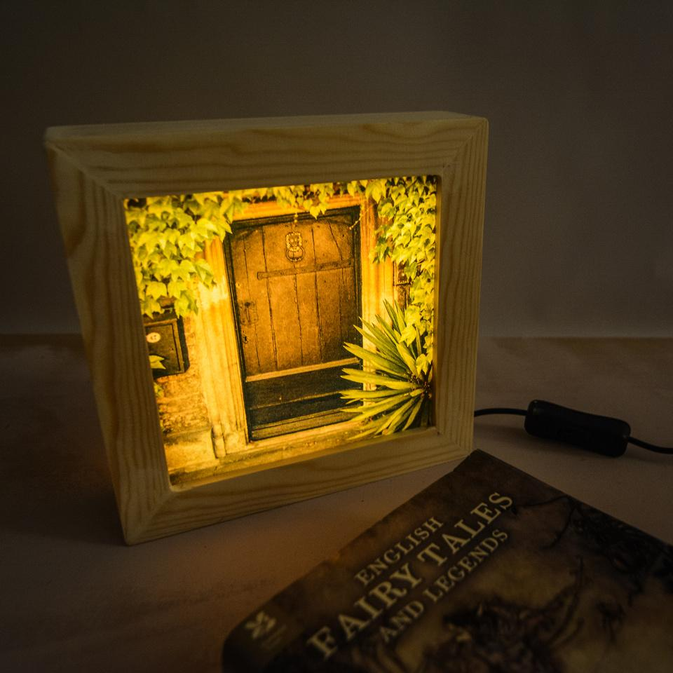 Handmade light box