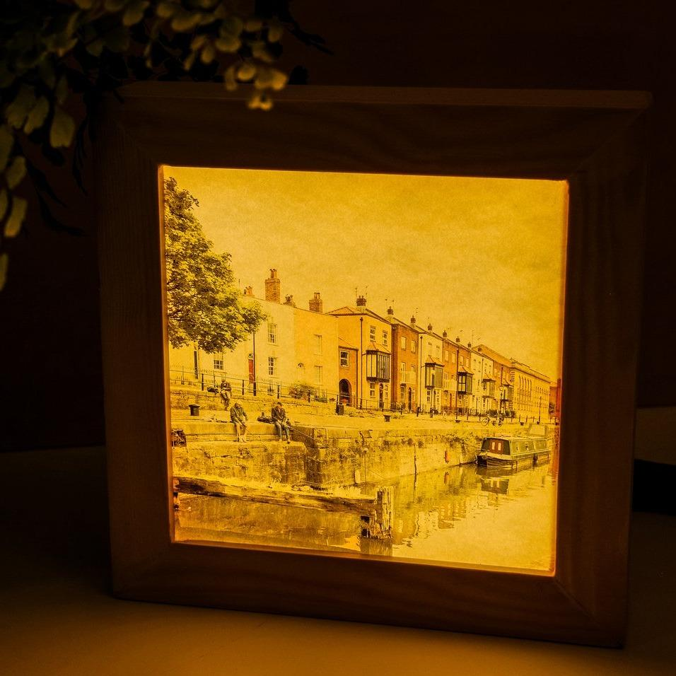 Bristol art light box by Nina Allwood