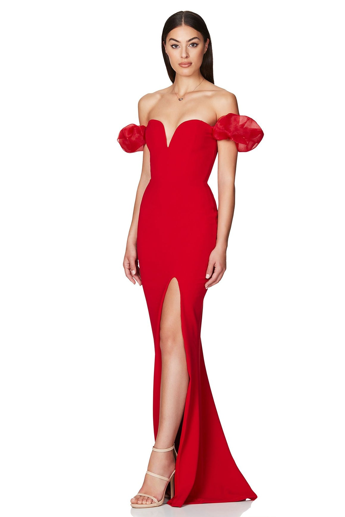 Eleganza Gown - Red