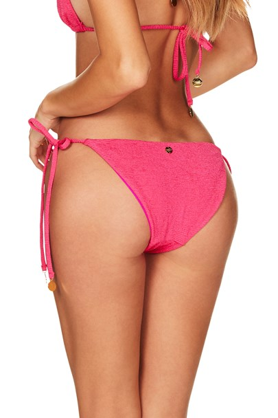Calypso Side Tie Pant - Hot Pink