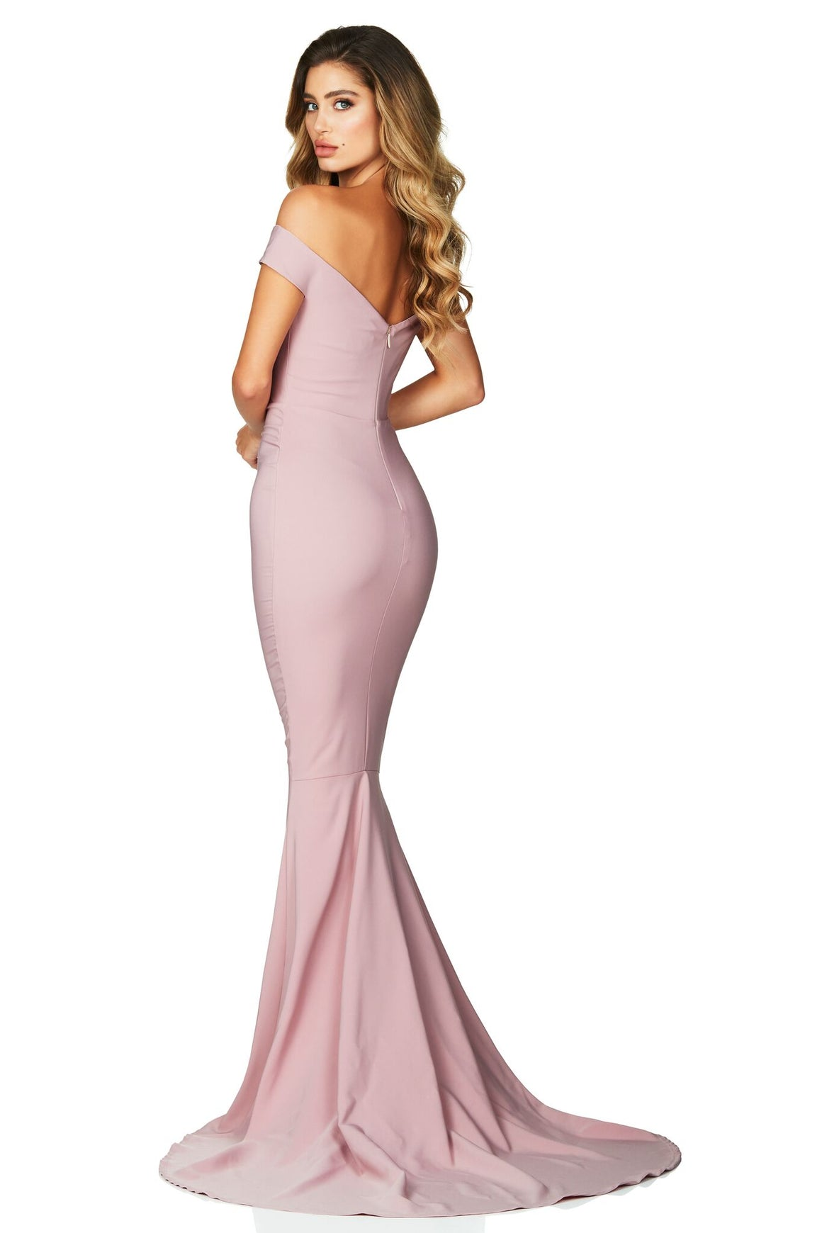 Allure Gown - Dusty Pink