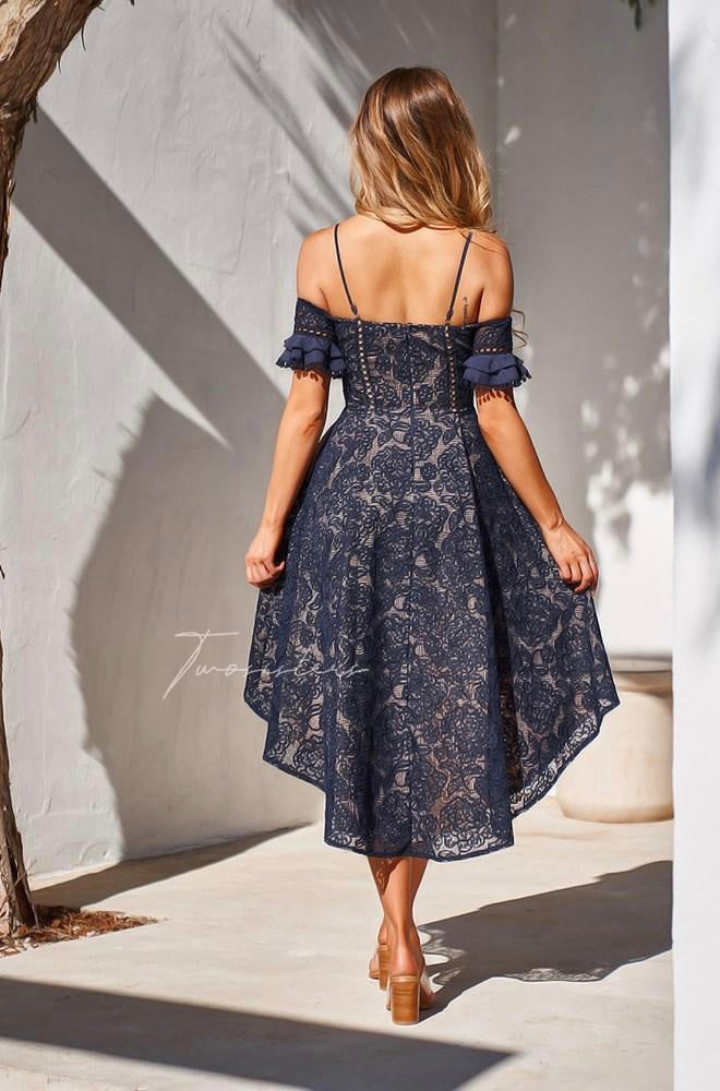Megan Dress - Navy