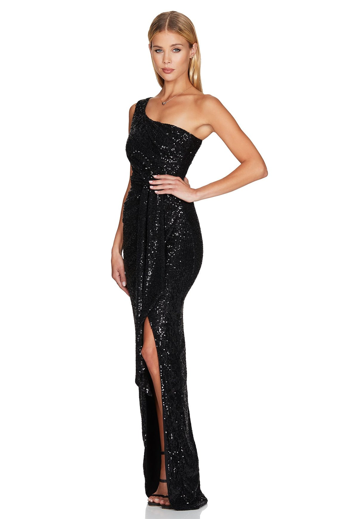 Palazzo Gown - Black