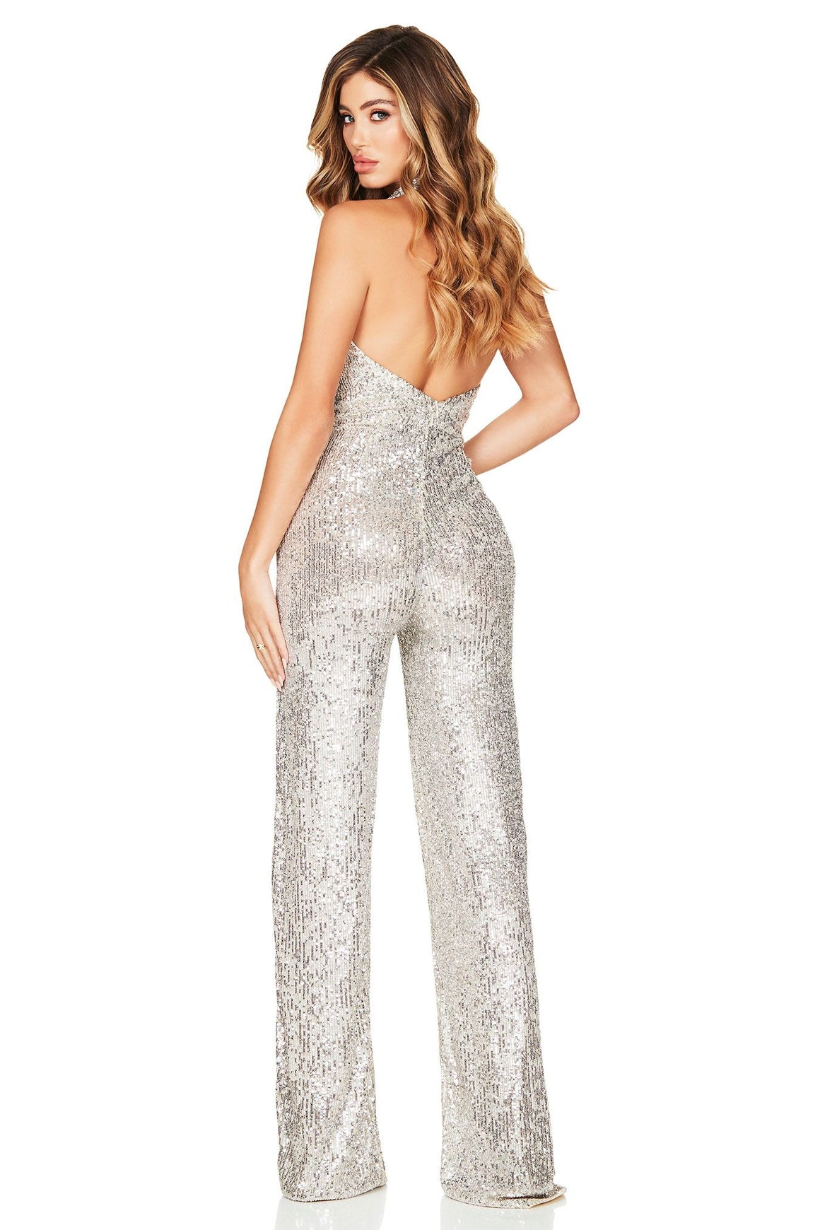 Fantasy Jumpsuit - Silver
