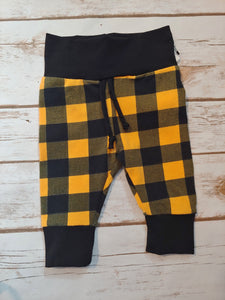 Slim Fit Joggers - Dijon Plaid