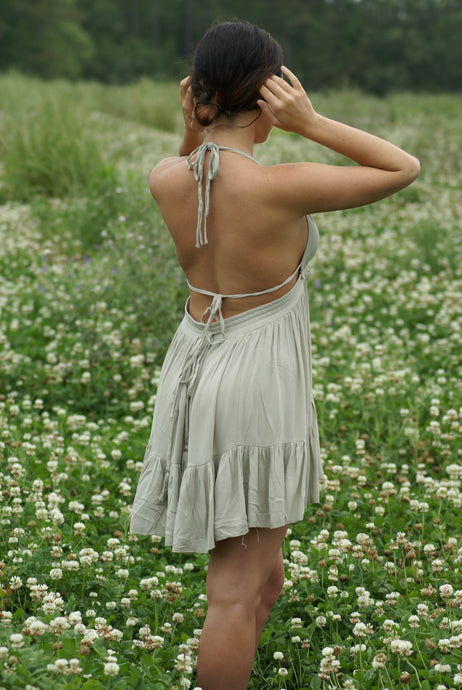 Sweet Pea Open Back Dress | Claire de Lune Boutique