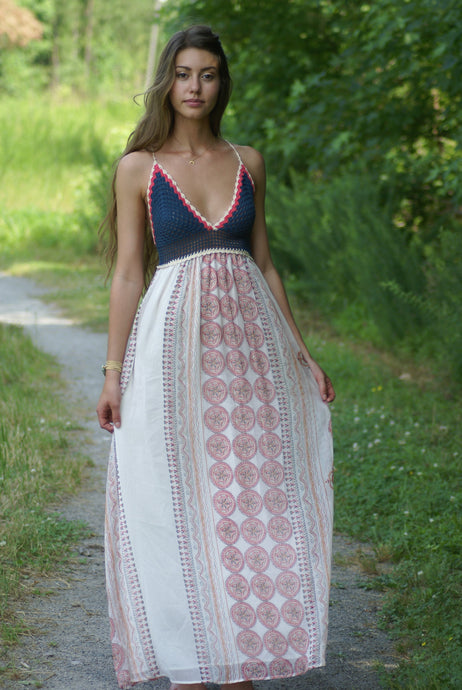 Bahamas Maxi Dress | Claire de Lune Boutique