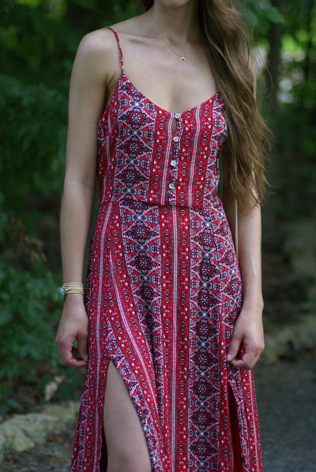Alana Maxi Dress | Claire de Lune Boutique