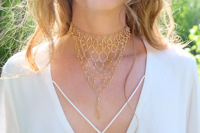 Ettika Lady of the Manor Choker | Claire de Lune Boutique