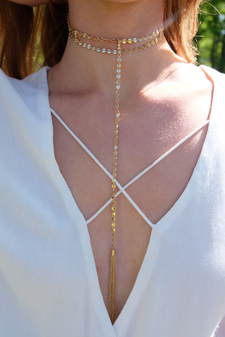 Ettika Roaming Roads Choker | Claire de Lune Boutique