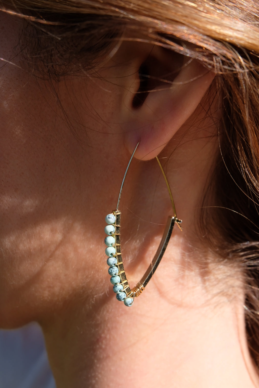 Ettika Watch Me Dip Earrings | Claire de Lune Boutique