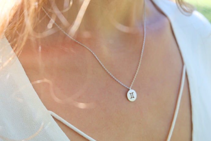 Zodiac Necklace | Claire de Lune Boutique