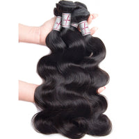 Brazilian Body Wave 4 Bundles and a Frontal/Closure Deal