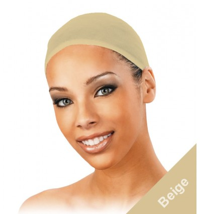 2 pc Beige/Nude/Tan Wig Cap