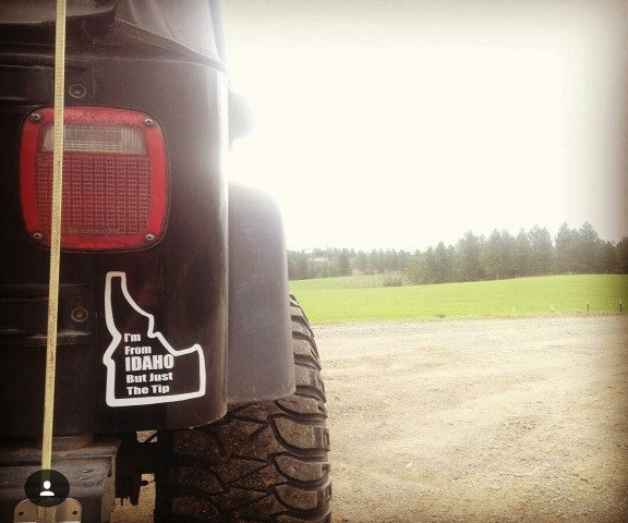 Just the tip - Hillbilly Decals