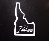 Idahome vinyl decal - Hillbilly Decals