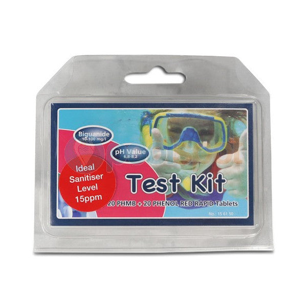AquaSpa Sanitiser & PH Test Kit